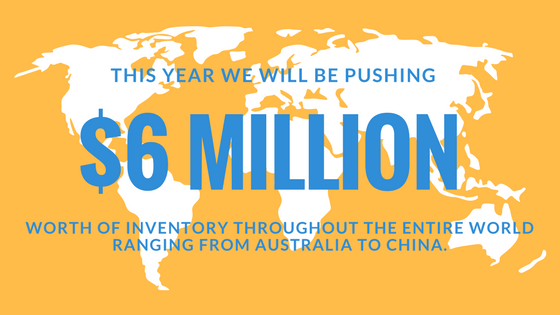 We will be pushing 6 million products.